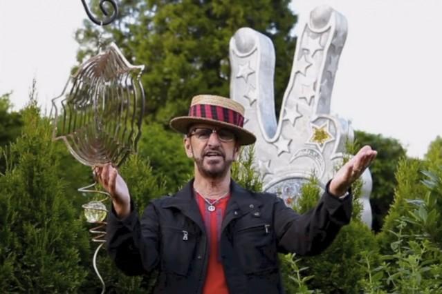 Ringo Starr Birthday Peace Love Video Message