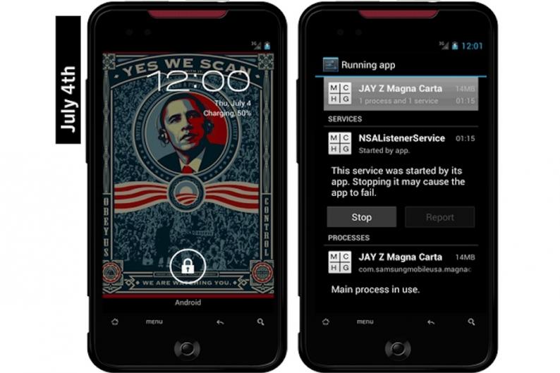 Jay-Z, 'Magna Carta Holy Grail,' app, virus