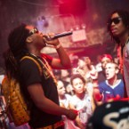 Migos Invade Repurposed Strip Club for Fiery NYC Debut