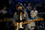Watch Eleanor Friedberger's Jittery Solo TV Debut on 'Fallon'