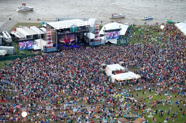2013 Forecastle Festival/ Photo by C. Michael Stewart