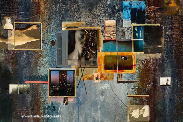 Nine Inch Nails, 'Hesitation Marks,' cover art