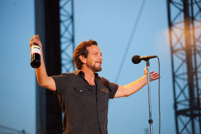 Pearl Jam at Wrigley Field, Chicago, July 19, 2013