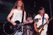 Soul Asylum in concert at Waterloo Village in Stanhope, NJ in 1993.