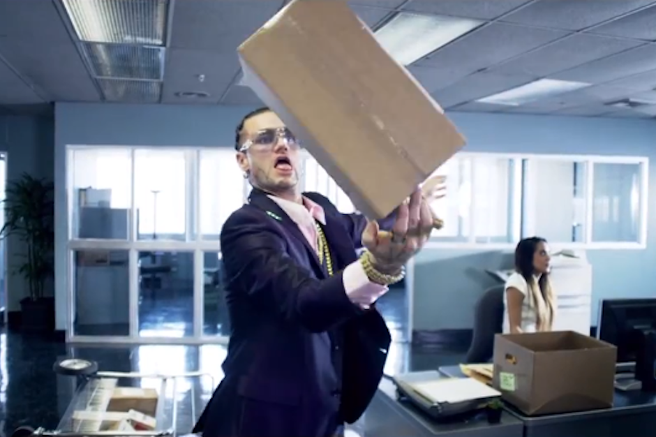 Watch RiFF RaFF and Far East Movement Update 'Office Space' in 'The Illest' Video