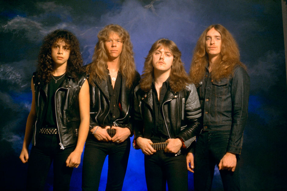 Darlings, don't you go and cut your hair: A younger, less litigious Metallica