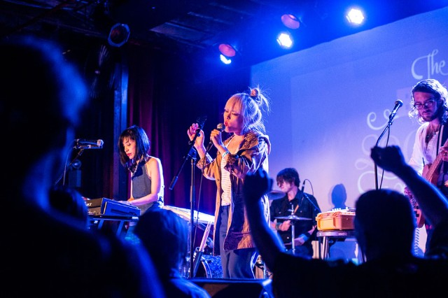 Cibo Matto perform at BUST Magazine's 20th Anniversary Extravaganza in Brooklyn, NY. / Photo by Gabi Porter