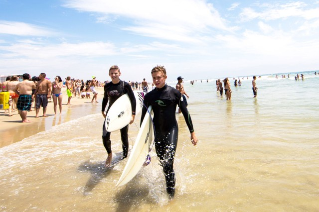 U.S. Open of Surfing 2013 / Photo by Alice Baxley