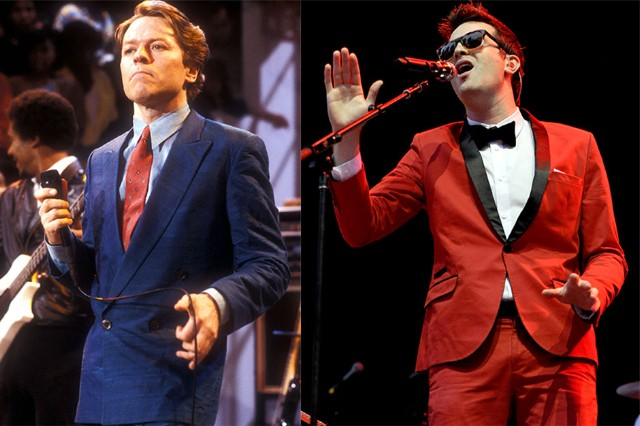 Robert Palmer, 1980 and Mayer Hawthorne, 2012.