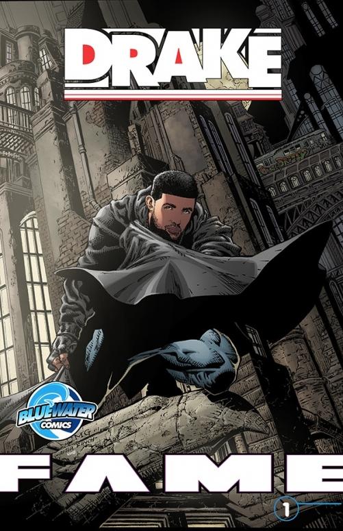 Drake, Batman, Fame, comic book, reissue, cover art, full