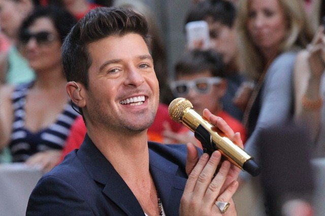 "Robin Thicke, 'Blurred Lines,' ""Pressure,"" ""Put Your Lovin' on Me,"" stream"