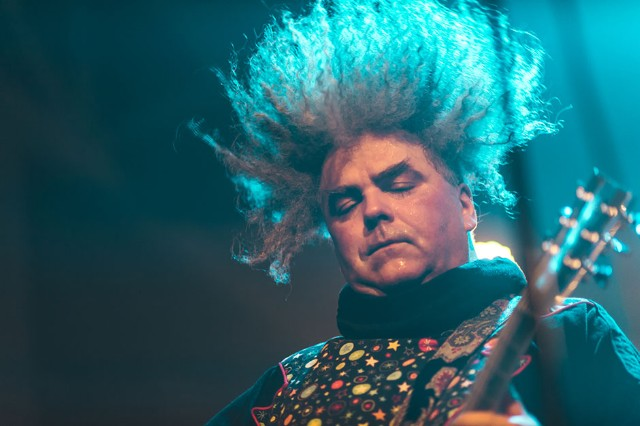 The Melvins at House of Vans, Brooklyn, NY, July 31, 2013 / Photo by Loren Wohl