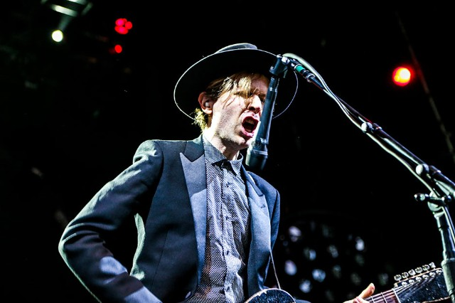Beck at Prospect Park, Brooklyn, NY, August 4, 2013 / Photo by Krista Schlueter