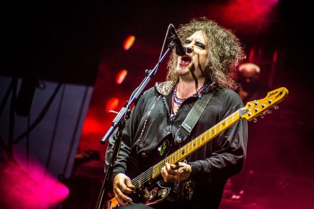 The Cure at Lollapalooza, Chicago, August 4, 2013 / Photo by Ian Witlen