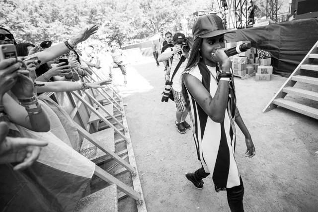 Angel Haze 'Echelon' Stream 'Dirty Gold' Markus Dravs