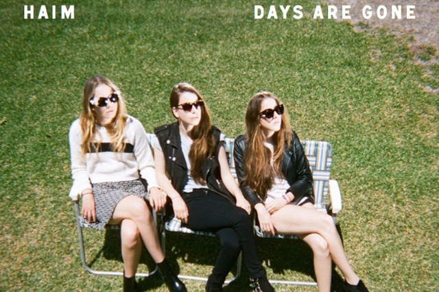 haim, days are gone, album cover art