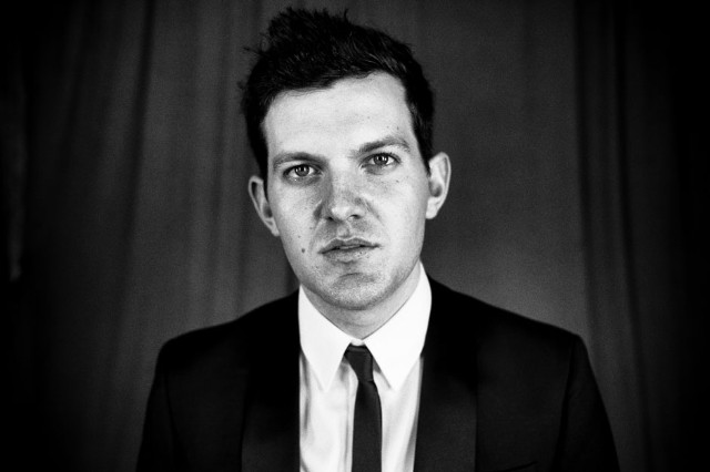 Dillon Francis, backstage at Lollapalooza
