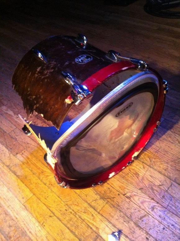 Death Grips, broken drum, Lollapalooza, no-show