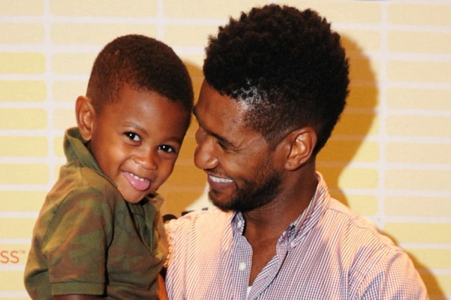 Usher, son, five-year-old, Usher Raymond 5, pool, accident, near-drowning, statement, recovering