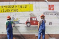 Explosions in the Sky's 'Prince Avalanche' Mural Gets Speed-Painted in 'Send Off' Video