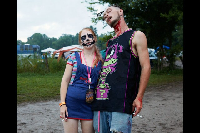 Gathering of the Juggalos, Cave-in-Rock, IL, August 7-11, 2013 / Photo by Devin Doyle
