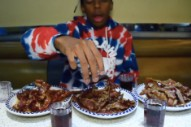Bishop Nehru Raps With a Mouth Full of Bacon in 'Appalled' Video