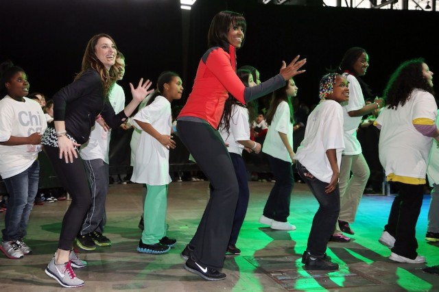 First Lady Michelle Obama, rap album, 'Songs for a Healthier America'