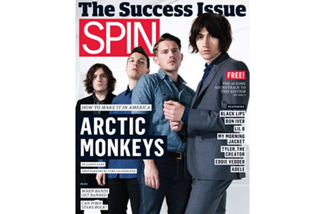 Arctic Monkeys, shot for SPIN's July 2011 cover by Ture Lillegraven