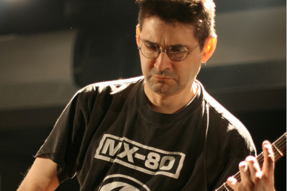 Steve Albini - 2018 Light Brown hair & alternative hair style. Current length:  near-shaved Hair