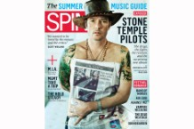Scott Weiland on SPIN's June 2010 Cover / Photo by Mark Hom