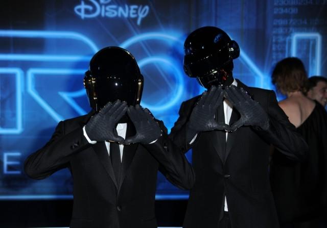 Daft Punk, Milla Jovovich, fashion, photo, shoot