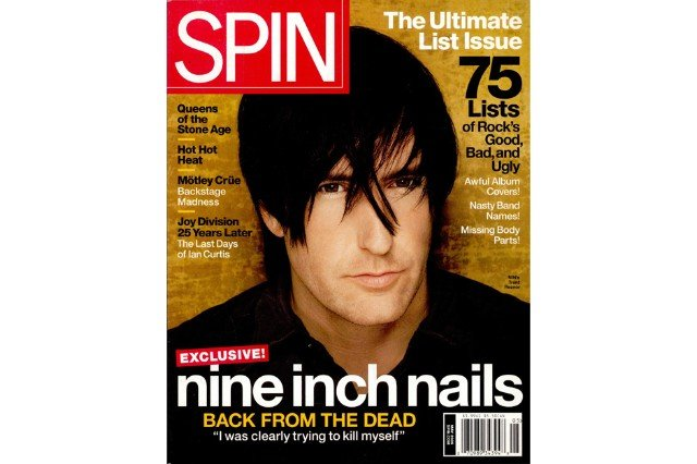 Trent Reznor, SPIN, May 2005