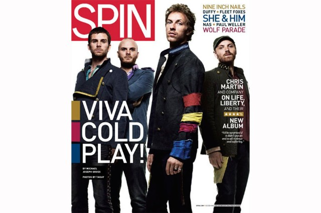 Coldplay: Shine On | SPIN