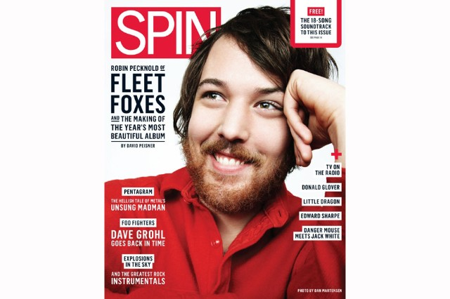 Robin Pecknold, photographed for SPIN by Dan Martensen