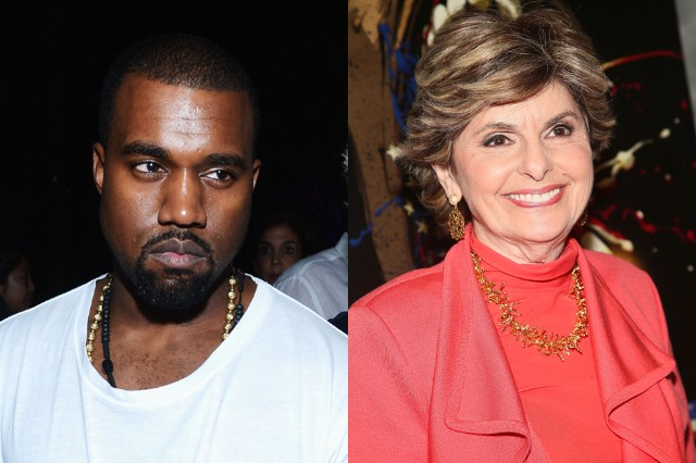 kanye west, gloria allred, lawsuit