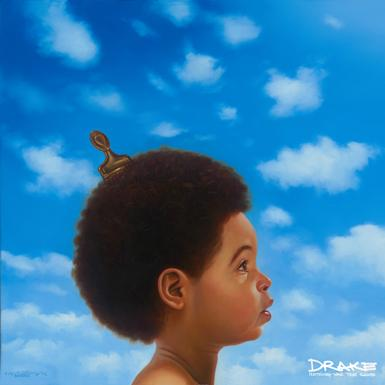 Drake, Nothing Was the Same, album cover art, full, 1