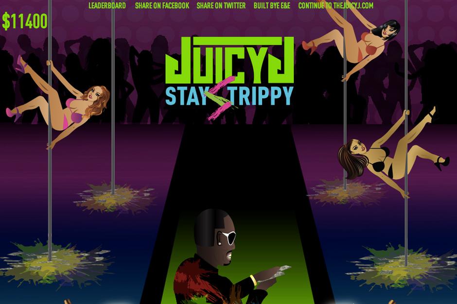 Juicy J Stay Trippy Stripper Game Bandz Dance