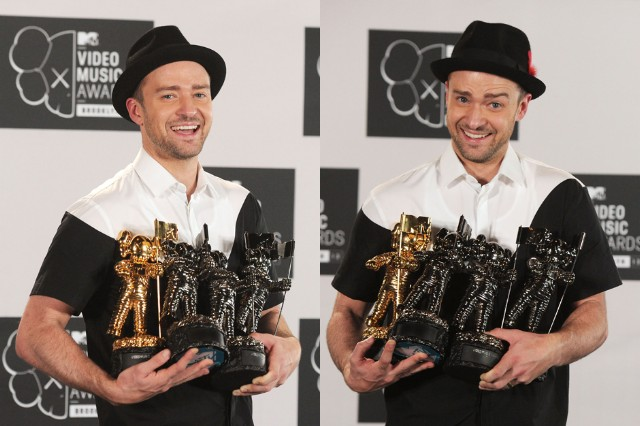 Justin Timberlake wins four MTV VIdeo Music Awards 2013