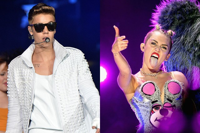 Justin and Miley: Everyone ready?