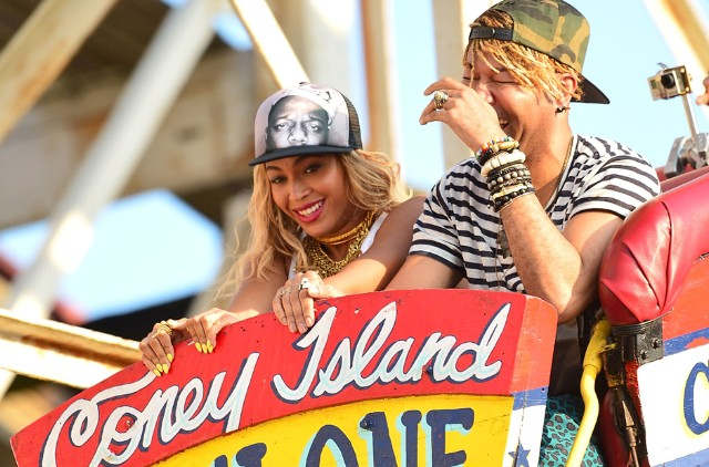 Beyonce Coney Island music video Terry Richardson cyclone
