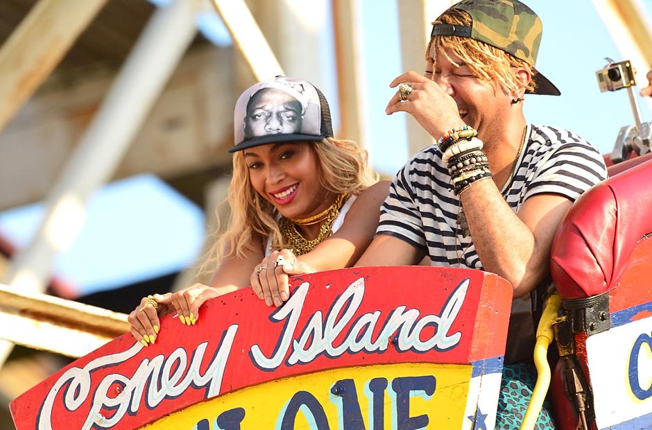 Beyonce Coney Island music video Terry Richardson cyclone