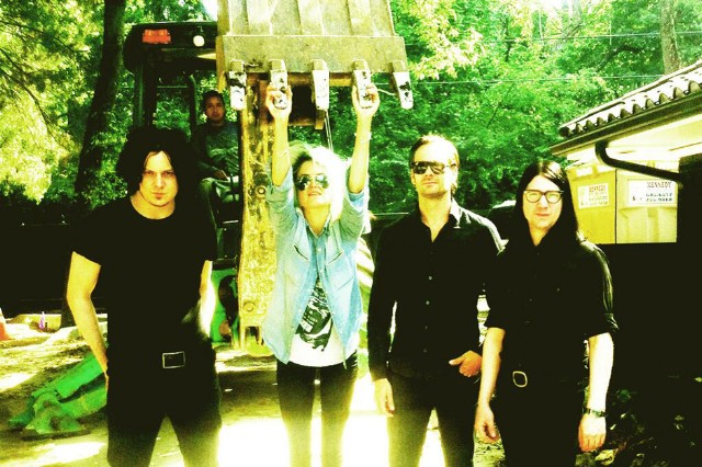 jack white, the dead weather