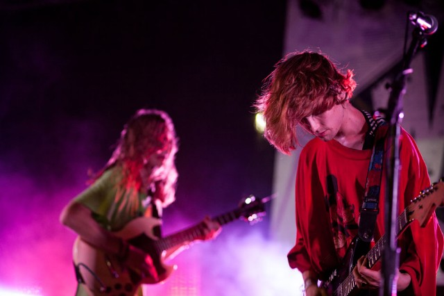 DIIV at Captured Tracks Five-Year Anniversary Festival, the Well, Brooklyn, NY, August 31, 2013 / Photo by Daniel Topete