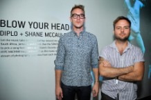 "Diplo, Shane McCauley, ""Blow Your Head,"" interactive, art, exhibition, Los Angeles"