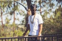 Juicy J in Los Angeles, August 2013