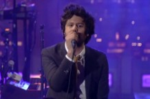 passion pit, live on letterman
