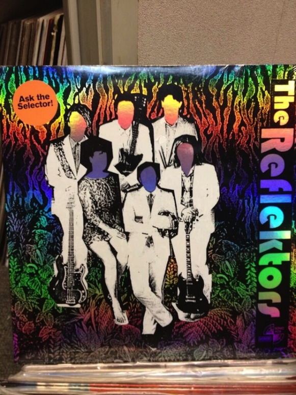 Arcade Fire, the Reflektors, single, cover art, Grimey's