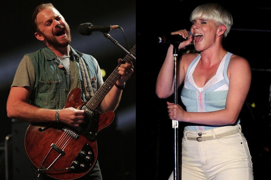 """Kings of Leon, Robyn, """"Dancing On My Own,"""" cover, video, 'Girls,' BBC"""