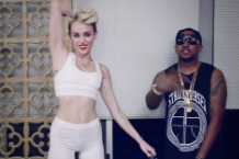 "Miley Cyrus and Mike Will Made It in the ""We Can't Stop"" video"