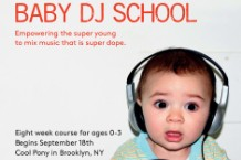 Baby DJ School, Brooklyn, Natalie Elizabeth Weiss